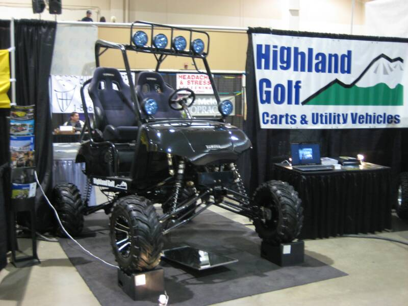Lifted Yamaha Golf Cart