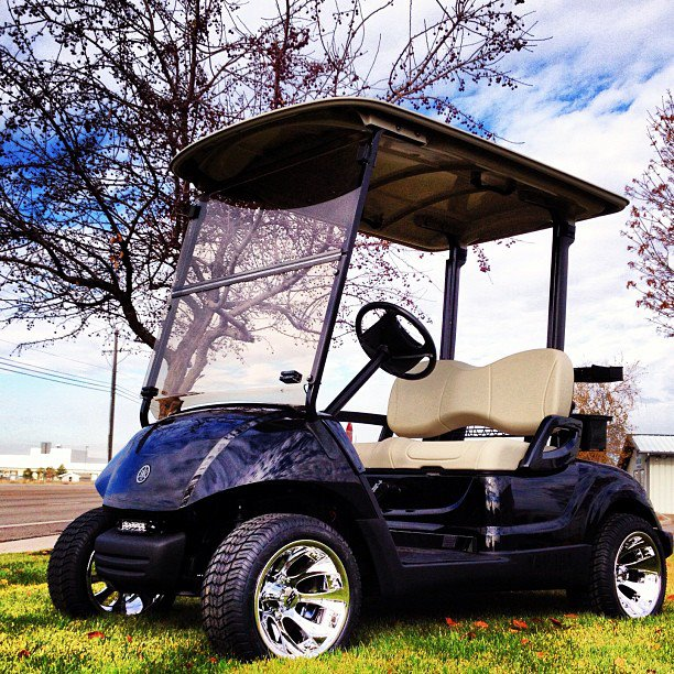 Welcome to Highland Golf! Your source for Yamaha, E-Z-Go, and custom on custom electric golf carts, custom lifted golf carts, custom golf carts california, tricked out custom golf carts, ezgo golf carts, electric club car golf carts,